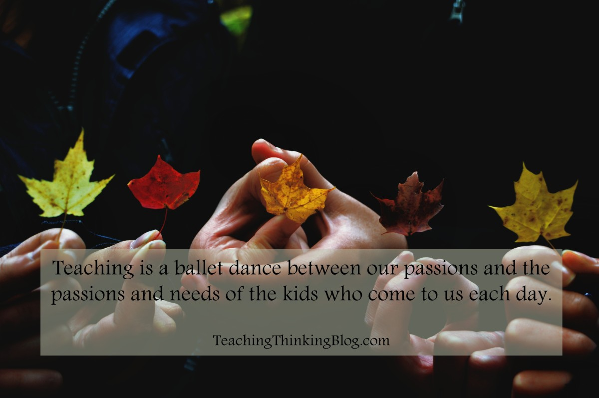 On Teaching: What am I Thankful for and What Will I Give?